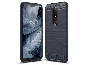 محافظ ژله ای نوکیا Carbon Fibre Case Nokia 6.1 Plus /Nokia X6