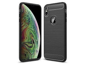 محافظ ژله ای آیفون Carbon Fibre Case Apple iphone XS Max