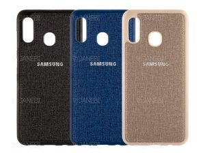 قاب محافظ طرح پارچه ای سامسونگ Protective Cover Samsung Galaxy M20