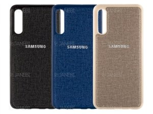 قاب محافظ طرح پارچه ای سامسونگ Protective Cover Samsung Galaxy A50