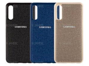 قاب محافظ طرح پارچه ای سامسونگ Protective Cover Samsung Galaxy A70