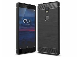 محافظ ژله ای نوکیا Carbon Fibre Case Nokia 7