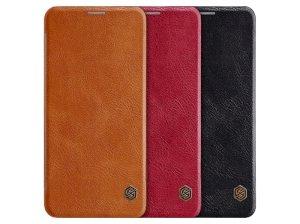 کیف چرمی نیلکین ال جی Nillkin Qin leather case LG G8 ThinQ