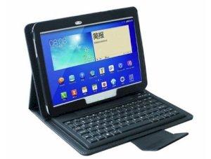 "کیف چرمی کیبورد دار Samsung Galaxy Tab 3 10.1"" P5200"
