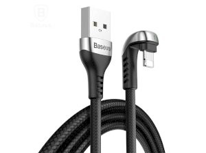 کابل لایتنینگ بیسوس Baseus Green U-Shaped Lamp Lightning Cable 2M