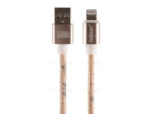 کابل چرمی لایتنینگ ارلدام Earldom EC-21I Lightning Cable 1m