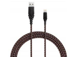 کابل شارژ سریع و انتقال داده لایتنینگ انرژیا Energea DuraGlitz Cable Lightning 3M