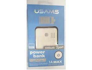 باطری اکسترنال 5000 میلی آمپر یوسامز  Usams Power bank 5000mAH