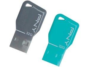فلش مموری پی ان وای  PNY key attache 32GB