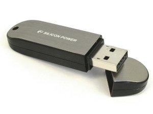 فلش مموری سیلیکون پاور Silicon Power LuxMini 910 4GB