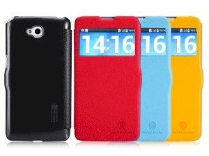 کیف چرمی مدل01 LG G Pro Lite Dual Sim مارک Nillkin