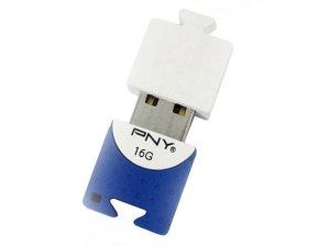 فلش مموری پی ان وای PNY Brick Attach 16GB