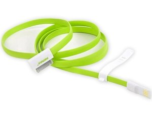 کابل رنگی آیفون Remax 30-pin to USB Apple Cable 90cm