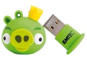 فلش مموری  Emtec Angry Birds Green 8GB