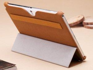 کیف چرمی مدل01 Samsung Galaxy Note 10.1 2014 مارک Rock