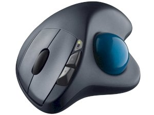 موس لیزری لاجیتک Logitech Wireless Trackball M570