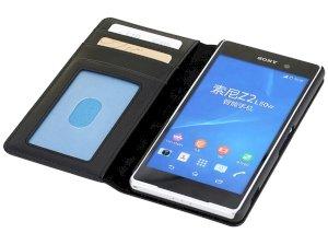 کیف چرمی02 Sony Xperia Z2 مارک Rock