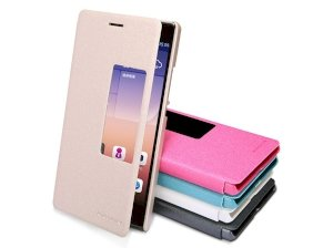کیف چرمی گوشی مدل01 Huawei Ascend P7 مارک Nillkin