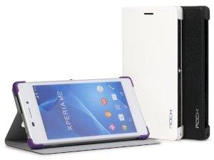 کیف چرمی Sony Xperia M2 مارک Rock
