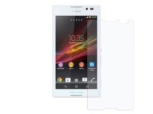 محافظ صفحه نمایش شیشه ای سونی Glass Screen Protector Sony Xperia C