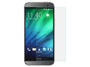 محافظ صفحه نمایش شیشه ای HTC One M8 مارک Baseus