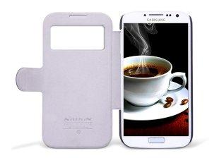 کیف چرمی مدل06 برای Samsung Galaxy S4 مارک Nillkin