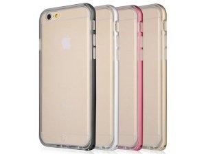 محافظ ژله ای و بامپر فلزی بیسوس آیفون Baseus Fusion Case Apple iPhone 6/6s