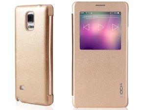 کیف چرمی Samsung Galaxy Note 4 مارک Rock