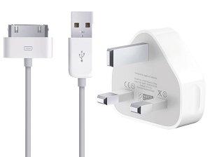 شارژر اصلی آیفون همراه کابل Apple 30-pin to USB Cable