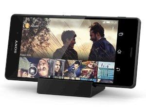 پایه نگهدارنده و شارژر اصلی گوشی Sony Xperia Z3 , Z3 Compact