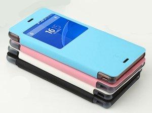 کیف چرمی مدل01 Sony Xperia Z3 مارک Baseus