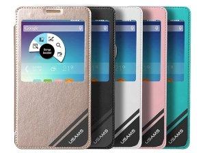 کیف چرمی یوسامز سامسونگ Usams Case Samsung Galaxy Note 4