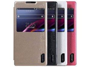 کیف چرمی یوسامز سونی Usams Case Sony Xperia C3