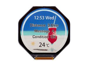 ساعت هوشمند جدید کمپانی JDI ژاپن با مصرف باتری پایین