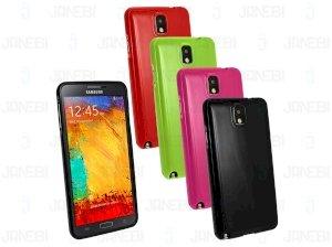 محافظ ژله ای رنگی Samsung Galaxy Note 3