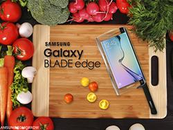 دروغ سیزده: Samsung Galaxy Blade Edge اولین چاقوی هوشمند دنیا!