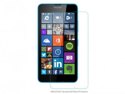محافظ صفحه نمایش شیشه ای Microsoft Lumia 640 مارک Nillkin