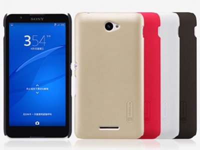 قاب محافظ نیلکین سونی Nillkin Frosted Shield Case Sony Xperia E4