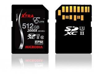 اولین کارت حافظه 512 گیگابایتی جهان تولید شد