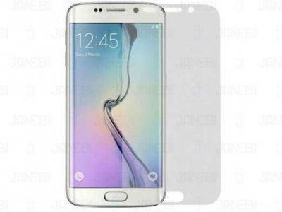 محافظ صفحه نمایش  و پشت شفاف  Samsung Galaxy S6 Edge