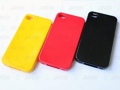 محافظ ژله ای رنگی Apple iphone 4 & 4S