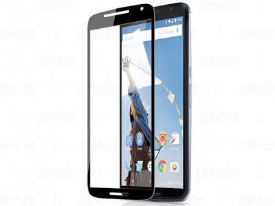 محافظ صفحه نمایش شیشه ای مشکی Motorola Nexus 6 مارک Nillkin