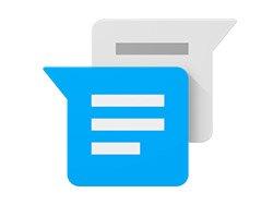 قابلیت فرستادن استیکر و موقعیت مکانی در نسخه جدید پیام رسان گوگل