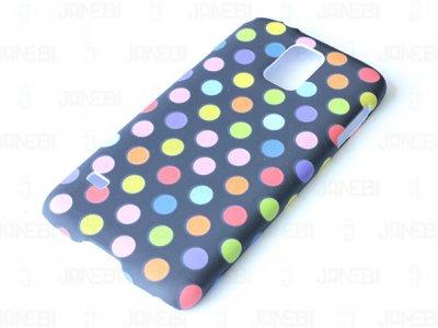 قاب محافظ  Samsung Galaxy S5 Cutie Dots
