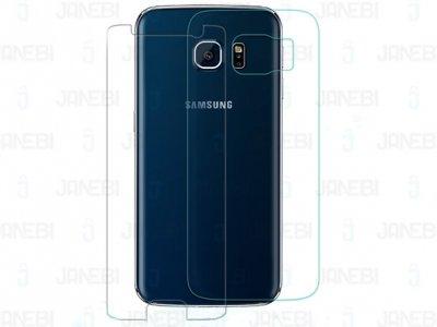محافظ صفحه نمایش شیشه ای پشت رو +Samsung Galaxy S6 edge H مارک Nillkin