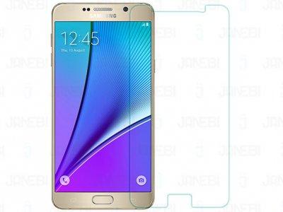 محافظ صفحه نمایش شیشه ای +Samsung Galaxy Note 5 H مارک Nillkin