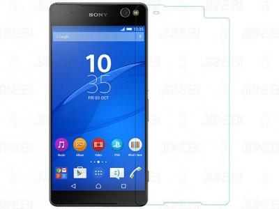 محافظ صفحه نمایش شیشه ای+Sony Xperia C5 Ultra H مارک Nillkin