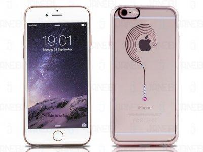 قاب محافظ شیشه ای گوشواره Apple iphone 6 مارک Remax