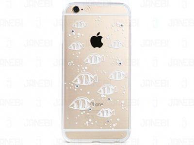 محافظ ژله ای شفاف طرح ماهی  ریمکس آیفون Remax Case Apple iPhone 6/6S