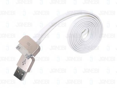 کابل 1 متری آیفون Remax 30-pin to USB Apple Data Cable Safe